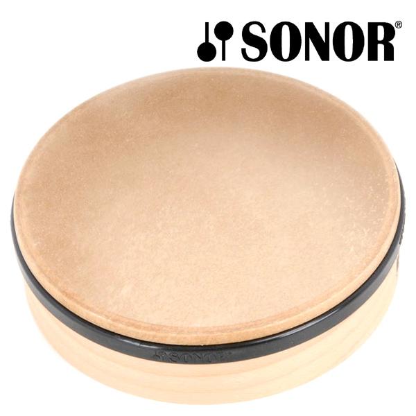 SONOR ゾノア社 タンバリン プライマリー ~ドイツ有数の打楽器メーカーSONOR(ゾノア社)の幼児楽器「オルフシリーズ」。本格的な楽器としても使用されているスモールパーカッションシリーズのタンバリンです。