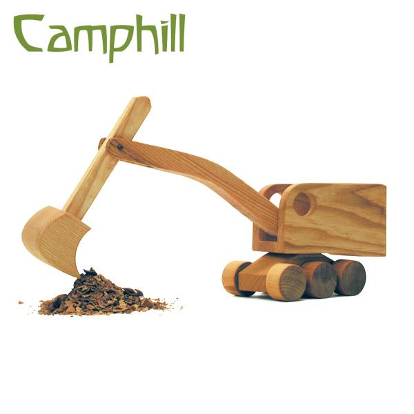 キャンプヒル Camphill シャベルカー~イギリス、Camphill(キャンプヒル)の天然木で作られた木製の働く車。木目もひとつとして同じものはない世界でひとつのシャベルカーです。