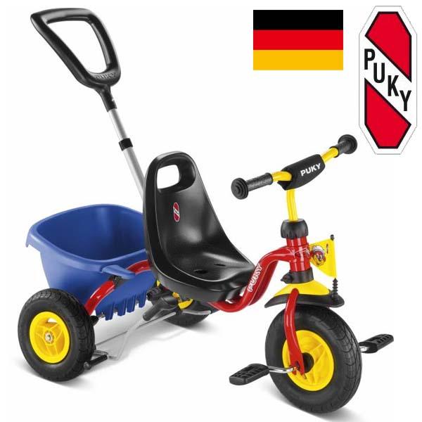 PUKY プッキー社 三輪車 スペシャル CAT 1S レッド~ドイツ・PUKYの三輪車は、子どもの安全を保持する為に機能性・安全性・耐久性・高品質を徹底的に追及した三輪車です。【簡易ラッピング】