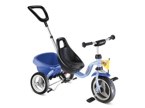 PUKY プッキー社 三輪車 スペシャル CAT 1S オーシャンブルー~ドイツ・PUKYの三輪車は、子どもの安全を保持する為に機能性・安全性・耐久性・高品質を徹底的に追及した三輪車です。【簡易ラッピング】