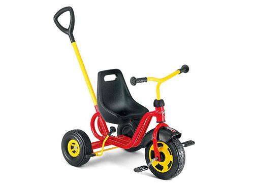 PUKY プッキー社 三輪車 クラシック CDT レッド~ドイツ・PUKYの三輪車は、子どもの安全を保持する為に機能性・安全性・耐久性・高品質を徹底的に追及した三輪車です。【簡易ラッピング】