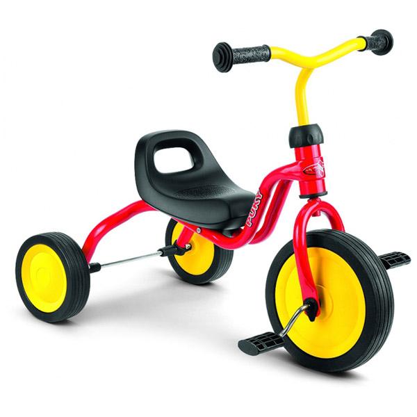 PUKY プッキー社 三輪車 フィッチ FITSCH レッド~ドイツ・PUKYのお子さまの初めての乗り物にオススメなマイ・ファースト・プッキー・シリーズ。1歳半頃から遊べる三輪車です。【簡易ラッピング】