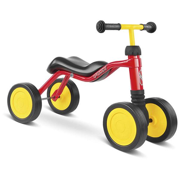 PUKY プッキー社 ウッチ WUTSCH レッド~ドイツ・PUKYのお子さまの初めての乗り物にオススメなマイ・ファースト・プッキー・シリーズ。1歳半頃から遊べる足けり乗用玩具です。【簡易ラッピング】