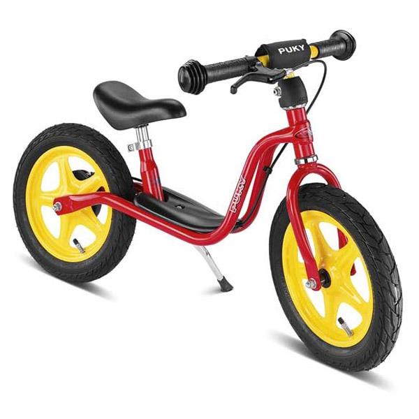 PUKY プッキー社 ラーニングバイク LR 1L Brake レッド(後輪ブレーキ付き)~ドイツ・PUKYの2歳半頃から遊べる足けり自転車(キックバイク)『ラーニングバイク・シリーズ』【ラッピング不可】
