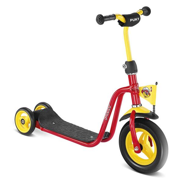 PUKY プッキー社 三輪スクーター R 1 レッド~ドイツ・PUKYの2歳頃から遊べるキックボード『スクーター・シリーズ』。【ラッピング不可】