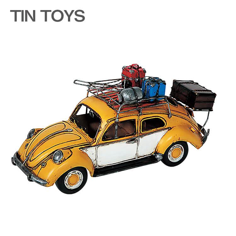 5日ポイント8倍 【送料無料】 在庫少 要確認 ブリキのおもちゃ carrier car 置物 インスタ映え オブジェ インテリア小物 レトロ アンティーク 車