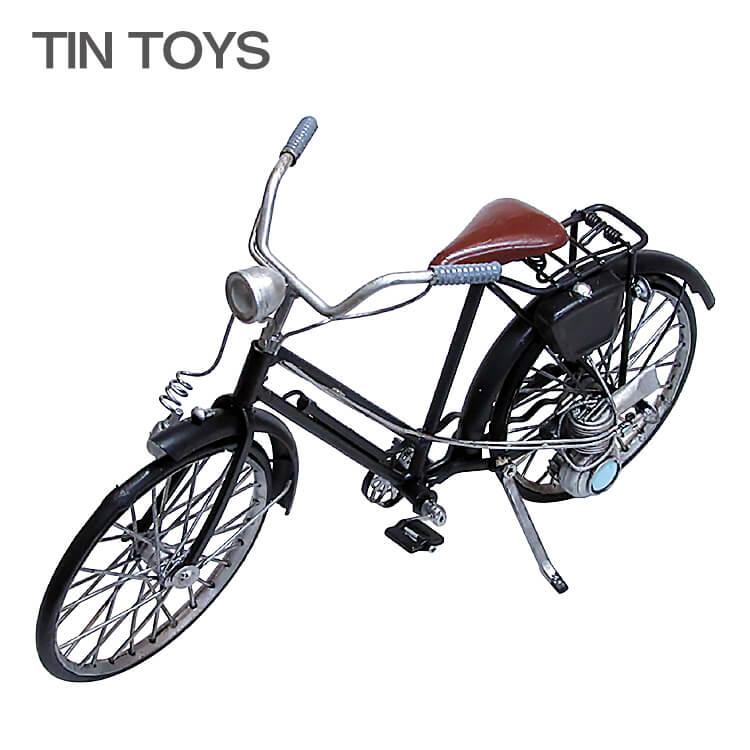 店内ポイント8倍 ブリキのおもちゃ 自転車 bicycle 置物 オブジェ インテリア小物 レトロ アンティーク インスタ映え 27616【送料無料】