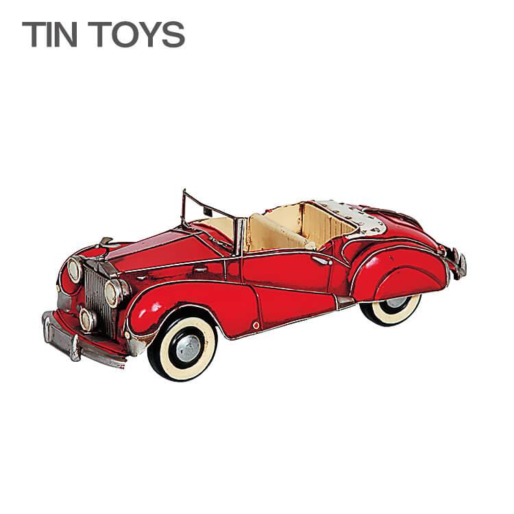 店内ポイント8倍 在庫少 要確認 ブリキのおもちゃ classic car クラシックカー 玩具 置物 インスタ映え オブジェ インテリア小物 レトロ アンティーク 車 【送料無料】