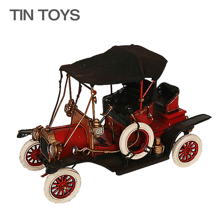 店内商品ポイント最大18倍 ブリキのおもちゃ classic car クラシックカー ディスプレイ 玩具 置物 インスタ映え オブジェ インテリア小物 レトロ アンティーク 車 【送料無料】