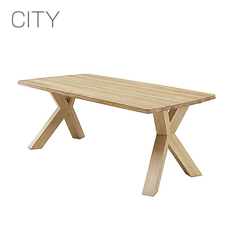 【送料無料】岩倉榮利デザイン CITY LD TABLE/165LDテーブル オークC-31(リビングダイニング 食卓 セラウッド塗装 シギヤマ家具 デザイナーズ家具 シティ) ポイント5倍