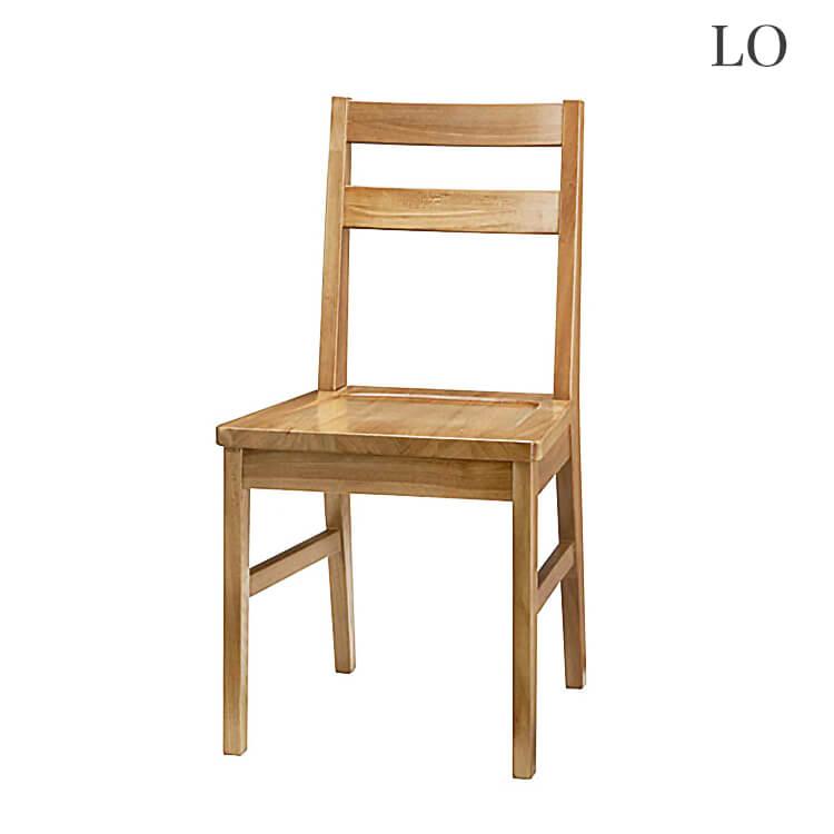 10日ポイント8倍 在庫少要確認 【送料無料】チェア1脚 椅子 イス 木製 ライトブラウン
