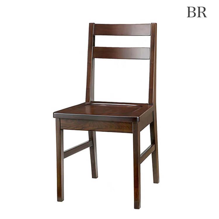 【送料無料】チェア1脚(椅子 イス 木製 ダークブラウン) ポイント5倍
