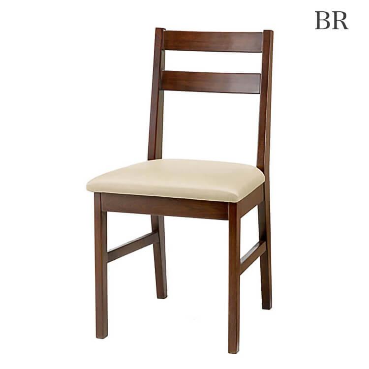 10日ポイント8倍 在庫少要確認 【送料無料】食卓椅子 ダイニングチェア1脚 椅子 イス 木製 PVC ダークブラウン