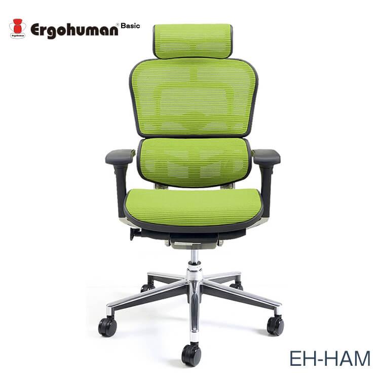 ワンダフルポイント5倍 【送料無料】エルゴヒューマン チェアー EH-HAM Ergohuman 人間工学 多機能 メッシュ ハイタイプ オフィス 高品質 KMD34