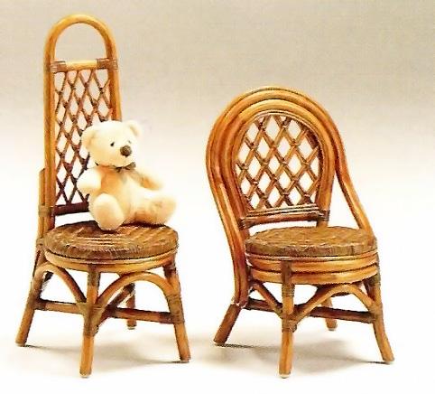籐キッズチェア1P(椅子 ミニ 子供用 ラタン 天然素材) ポイント5倍