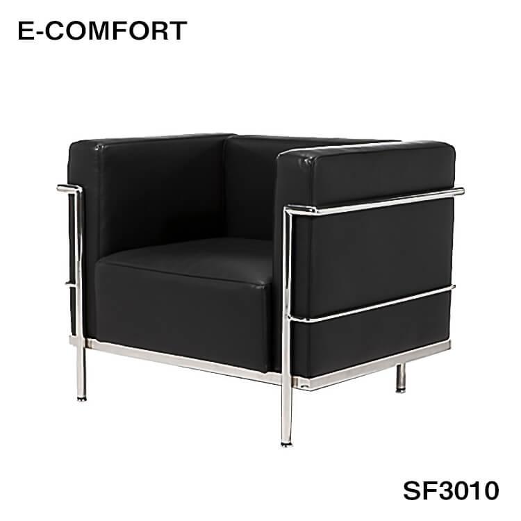 【送料無料】ル コルビジェの1Pソファ デザイナーズ家具 本物志向 ジェネリック家具 リプロダクト 高品質SF3010A ポイント5倍