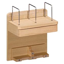 【送料無料】カリモク学習机用 パネル AU0806(スロープ Slope ラック 上置 ブックスタンド 収納 木製 オーク) ポイント5倍