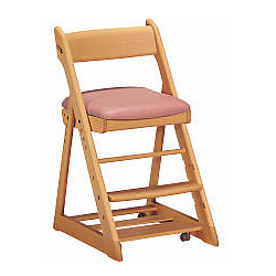 【送料無料】カリモク学習机用チェア XT0901(木製 オーク 椅子 キャスター付) 週末ポイント5倍