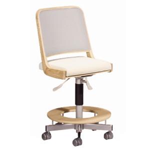 【送料無料】カリモク学習机用チェア XT2103(木製 オーク 椅子 キャスター付) ポイント5倍