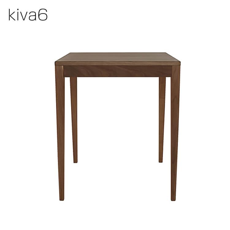 ワンダフルポイント5倍 【送料無料】kiva6/ウォールナット デスク幅60cm※本商品はデスクのみです 杉工場 デスク 書斎机 センターテーブル コンソールテーブル 国産 木製
