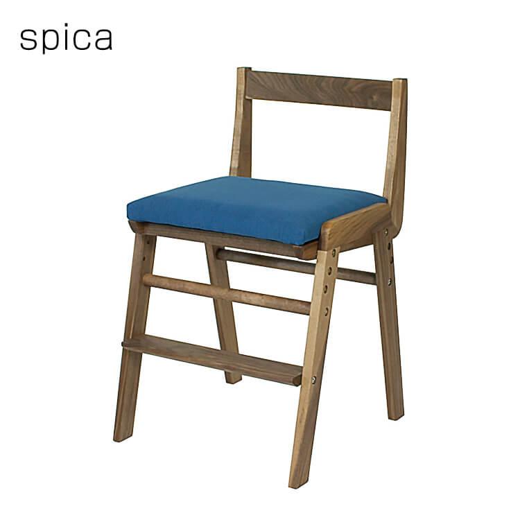 ワンダフルポイント5倍 【送料無料】2019年度 杉工場 学習机用チェア 《スピカ ウォールナット》 国産 椅子 木製