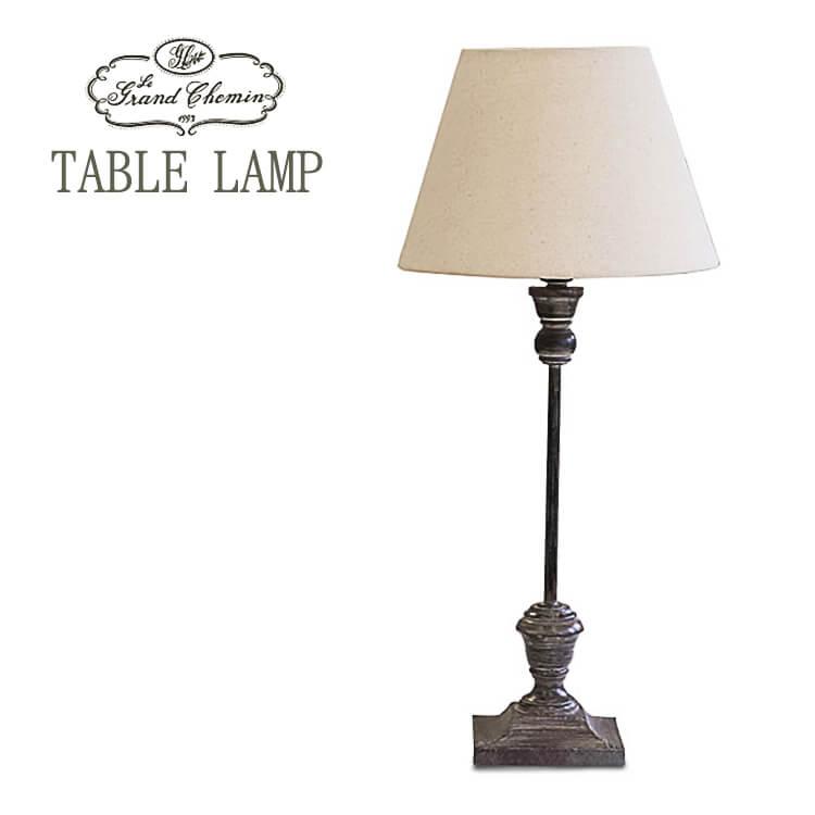 【送料無料】テーブルランプ ライト 照明 間接照明 lamp 60w MDF 上品 クラシック モダン 白熱灯 LED ラフィネ メタル グランシュマン ポイント5倍