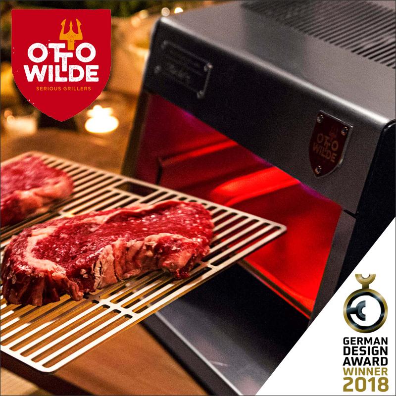 【送料無料】【OTTO WILDE】 アウトドア ステーキグリル