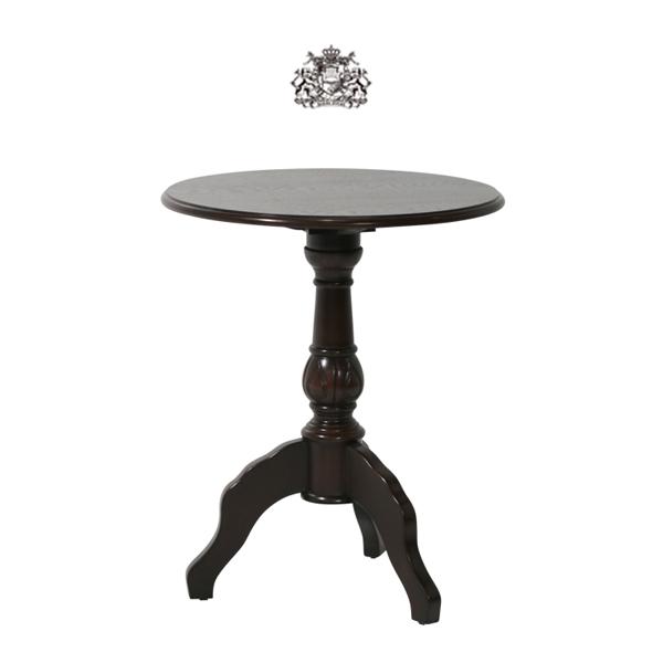 カフェテーブル ティーテーブル サイドテーブル アンティーク アンティーク家具調 クラシック レトロ ヴィンテージ ビンテージ ヨーロッパ イギリス 英国 イングランド ダークブラウン 茶色 木製 パブ バー 4032-5