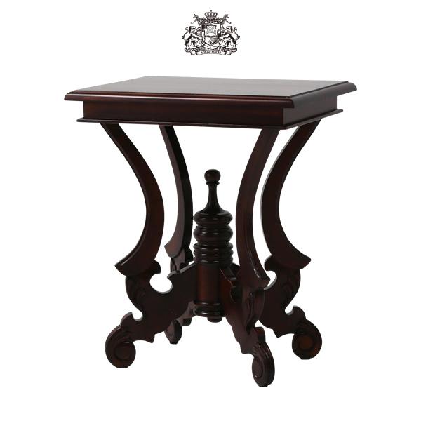 【送料無料】 イギリス アンティーク調家具 サイドテーブル MG720:ソファ専門店 ロイヤルソファズ