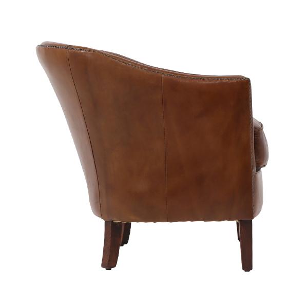 Amazing Caramel Brown Vintage Leather Armchair Single Sofa Ks2161 1Cb Store Specializing In Sofas Royal Sofas Creativecarmelina Interior Chair Design Creativecarmelinacom