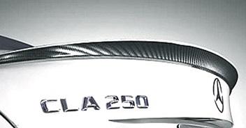 W117 CLAクラス純正品 リアスポイラー カーボンルックMercedes Benz メルセデス ベンツCLA180 CLA250