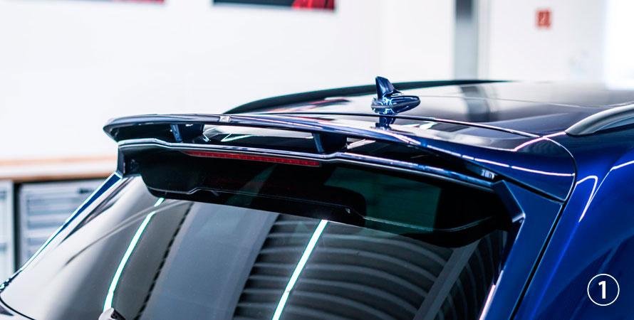 ABT アプト Audi アウディ Q5 SQ5 80A0 リアウイング