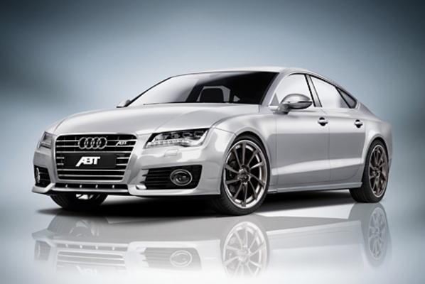 ABT アプト フロントスポイラー Audi アウディ A7 4G8 11年~ S-Line除く