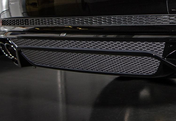 《ABT アプト》Audi アウディA4/S4(8W) 15~リアスカートデカールセットメッシュ インサートタイプ