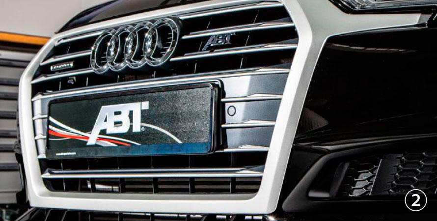 ABT アプト Audi アウディ A4 S-line S4 8W00 フロントグリル
