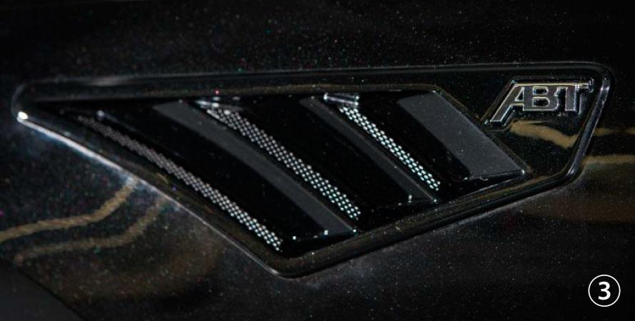 ABT アプト Audi アウディA4 S4 8W00 フェンダーインサート