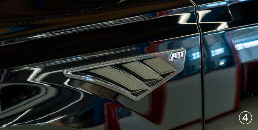 ABT アプト Audi アウディ A4 S4 8W00 フェンダーインサート カーボン