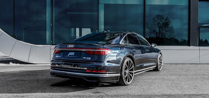 ABT アプト Audi アウディ A8 4N00 リアスカート ※スポーツエクステリア装着車不可