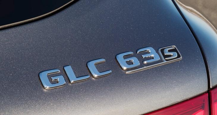 GLC63s AMG 純正品 リアエンブレム GLCクラス X253 クーペ Mercedes Benz メルセデス ベンツ