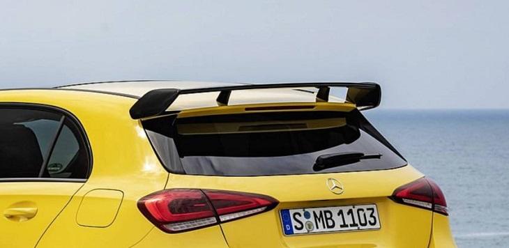 AMG A35 純正リアルーフウイング NEW Aクラス W177 AMGライン車のみ装着可 未塗装品Mercedes Benz メルセデス ベンツ