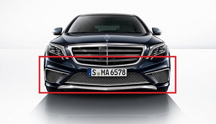 Mercedes Benz メルセデス ベンツ W222 SクラスS65 フロントスポイラー 一式