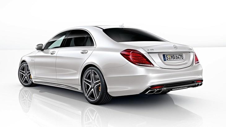 Mercedes Benz メルセデス ベンツAMG 純正マフラーエンド(ブラッククローム)左右W222(Sクラス)R231(SLクラス)S63・SL63に♪