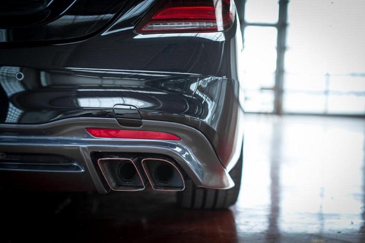 Lorinser ロリンザー リアマフラー メルセデス ベンツ Sクラス W222 後期モデル S300 S400 S450 S550 S560 S63