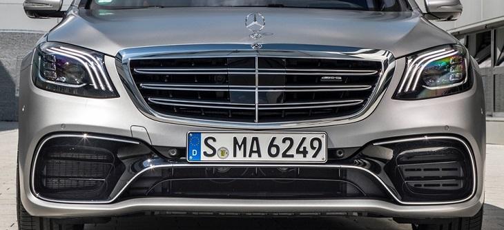 Sクラス W222 マイナー後純正品 AMG S63 フロントスポイラーセットMercedes Benz メルセデス ベンツ S300 S400 S450 S560
