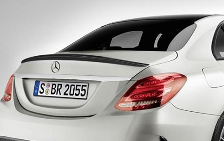 Cクラス W205 セダン用純正品 トランクスポイラー ブラックMercedes Benz メルセデス ベンツ