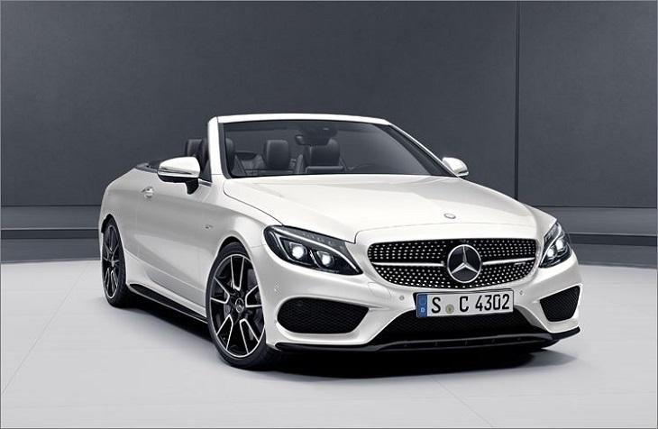 Cクラス W205 マイナー前純正品 エアロパーツ 4点セットスプリッター サイドパネル リアフリックス リアアンダーカバー ディフューザールックCクラス クーペ・カブリオレ用 光沢ブラックMercedes Benz メルセデス ベンツ