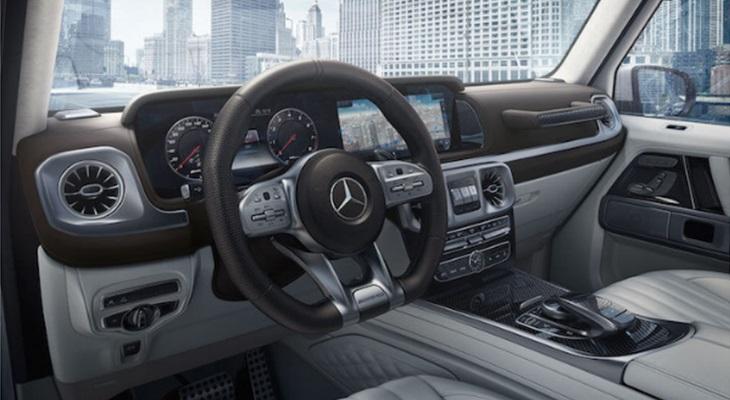 New Gクラス W463A 純正 カーボンインテリア トリムセット AMG G63 G350d G550 Mercedes Benz メルセデス ベンツ ゲレンデヴァーゲン