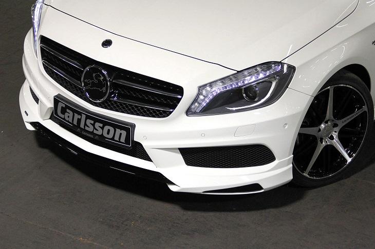 決算セール☆大特価!《カールソン Carlsson 》フロントリップスポイラーメルセデス ベンツ W176 AクラスA45用 2015y11~Mercedes Benz