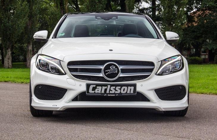 《カールソン Carlsson 》フロントリップスポイラーメルセデス ベンツ W205 CクラスAMGスポーツパッケージ用Mercedes Benz
