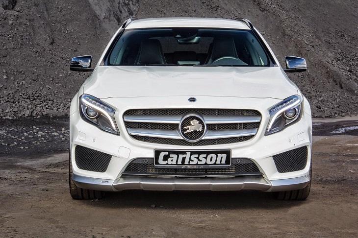 《カールソン Carlsson 》フロントリップスポイラーメルセデス ベンツ X156 GLAクラスAMGスポーツパッケージ専用Mercedes Benz